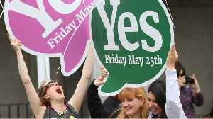 News video: Ireland Shows Record Turnout To Vote