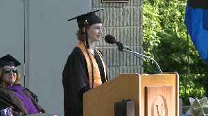 News video: 14-Year-Old Graduates from Community College, Gives Commencement Speech