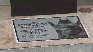 News video: Carrie Fisher Memorial Plaque Unveiled at TCL Chinese Theatre in Hollywood