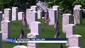 News video: Memorial Day: Honoring vets at the Wood National Cemetery in Milwaukee