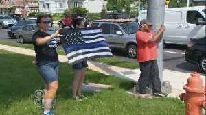 News video: Tributes Continue For Fallen Baltimore Co. Police Officer Amy Caprio