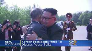 News video: Korean Presidents Meet To Discuss Peace Talks