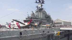 News video: Observing Memorial Day Onboard The Intrepid