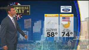 News video: WBZ Evening Forecast For May 26