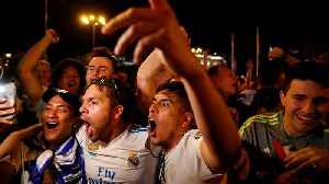 News video: Real Madrid fans take to the streets to celebrate