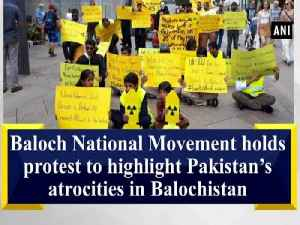 News video: Baloch National Movement holds protest to highlight Pakistan's atrocities in Balochistan