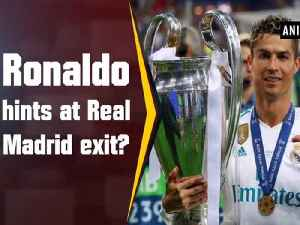 News video: Ronaldo hints at Real Madrid exit?