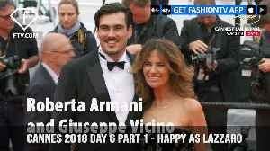 News video: Happy as Lazzaro at Cannes Film Festival 2018 on Day 6 Part 1 | FashionTV | FTV