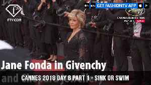 News video: Christopher Nolan in Sink or Swim at Cannes Film Festival 2018 Day 6 Part 1 | FashionTV | FTV