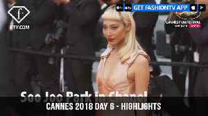 News video: Isabeli Fontana in Cannes Film Festival 2018 Day 6 Red Carpet Highlights | FashionTV | FTV