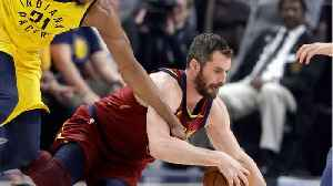 News video: Kevin Love Is Out For Game 7