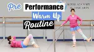 News video: Pre Performance Warmup Routine - Follow Along | Kathryn Morgan