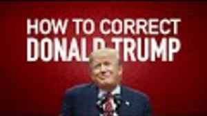 News video: How To Correct Donald Trump In Real Time