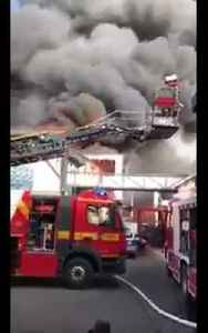 News video: Fire breaks out at Germany's biggest theme park