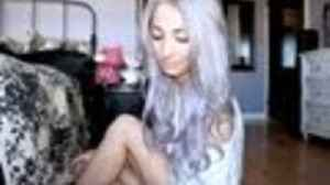 News video: Pastel Silver/Purple Ombre Hair Tutorial
