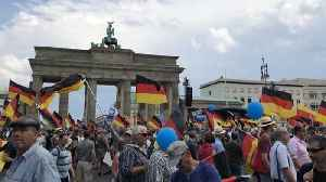 News video: Alternative for Germany Supporters Rally in Berlin