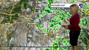 Storms continue off and on Memorial Day weekend