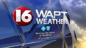 News video: Saturday Evening Weather