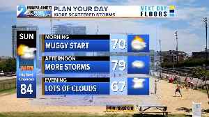 News video: Scattered Storms Again On Sunday