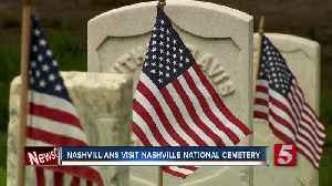 News video: Thousands Honored At Nashville National Cemetery