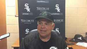 News video: White Sox manager Rick Renteria on Tim Anderson's thumb injury and Matt Davidson's back spasms