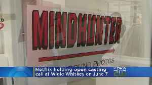 News video: Wigle Whiskey To Host 'Mindhunter' Open Casting Call