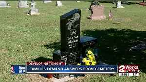 News video: Families outraged over cemetery vandalism