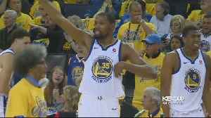 News video: Warriors Hope Alive, Force Game Three Against Rockets In Western Finals, 115-86