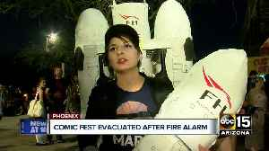 News video: Phoenix Comicfest evacuated after fire alarm