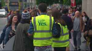 News video: Scenes of joy as Ireland votes to repeal abortion law