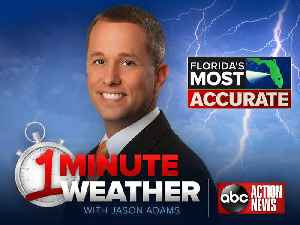 News video: Florida's Most Accurate Forecast with Jason on Sunday, May 27, 2018