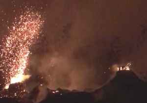 News video: Fissure Reactivates in Hawaii, Spattering Lava and Emitting Gas