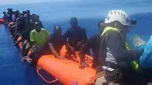 News video: Baby boy 'Miracle' born on migrant rescue ship