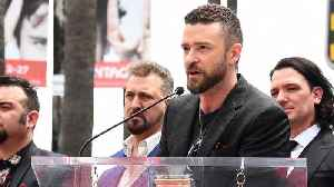 News video: Justin Timberlake Shows Support Of Texas High School Shooting Victims