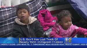 News video: U.S. Government Lost Track Of More Than 1,000 Children