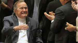News video: George HW Bush Hospitalized In Maine