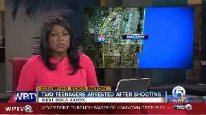News video: 2 teens arrested in death of man shot & killed in suburban Boca Raton