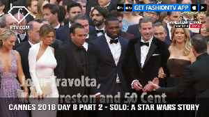 News video: Solo: A Star Wars Story Red Carpet at Cannes Film Festival 2018 Day 8 Part 2 | FashionTV | FTV