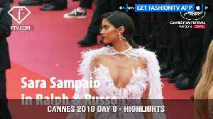News video: Alessandra Ambrosio at Cannes Film Festival 2018 Day 8 Red Carpet Highlights | FashionTV | FTV