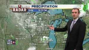 News video: Gino Recchia NBC26 Storm Shield Weather Forecast