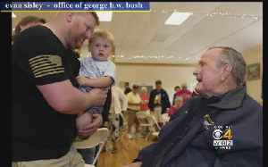 News video: George H.W. Bush Hospitalized In Maine