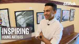 News video: Courthouse art program hopes to inspire young artists