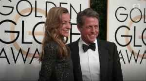 Hugh Grant Steps Out With Wife in First Appearance Since Getting Married: Pic