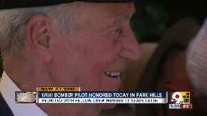 News video: WWII bomber pilot honored in Park Hills