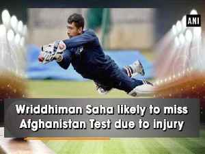 News video: Wriddhiman Saha likely to miss Afghanistan Test due to injury