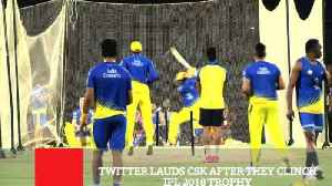 Twitter Lauds CSK After They Clinch IPL 2018 Trophy [Video]