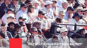 Was That Irrfan Watching Cricket At Lords?