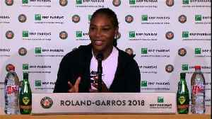 """News video: Royal wedding guest Serena blushes at timing of """"Queen is back"""" ad"""