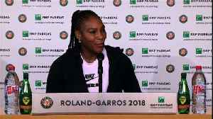 News video: Serena makes winning start to Grand Slam return
