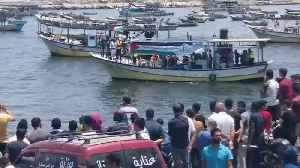Flotilla Sets Off From Gaza in Challenge to Israeli Blockade [Video]